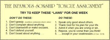 Sonship Tongue Exercise